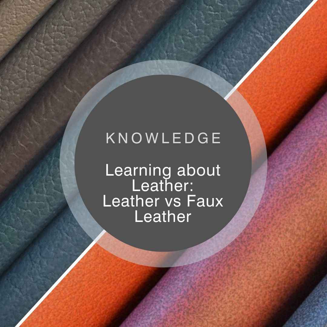 Learning about leather: leather versus faux leather